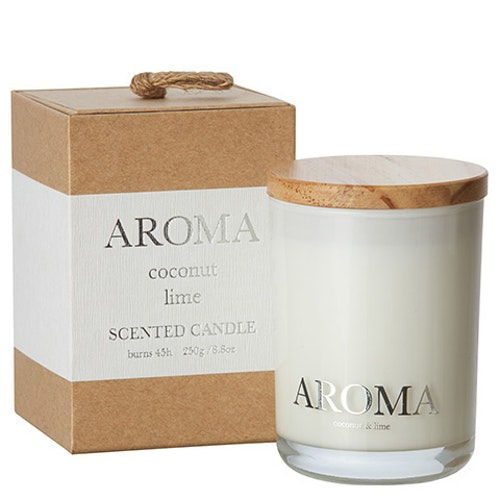 AROMA Doftljus M Kokos & lime