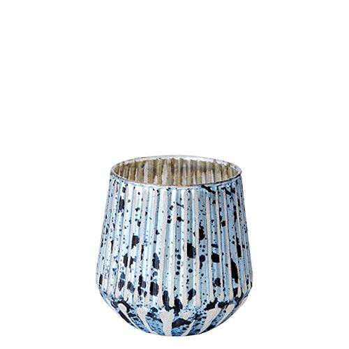 LISA Värmeljushållare/vas XS Blå