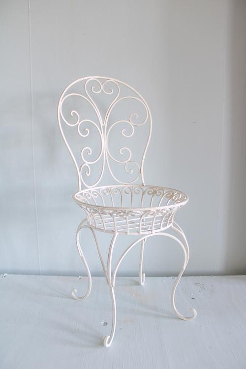 Blomsterställning stol