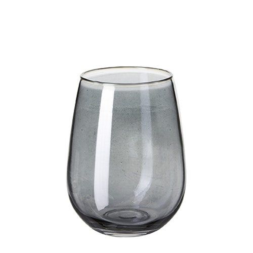 HYDE Glas Rökblå