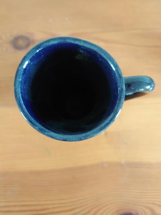 Karaff liten mörkblå