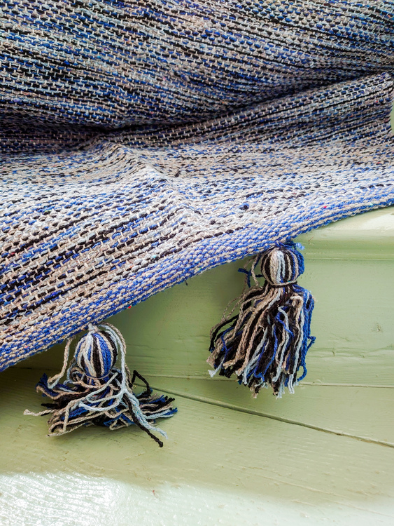 Indo Matta Blå 70x240 cm