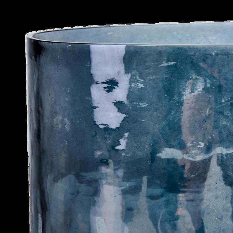 AMEZ Värmeljushållare M, Blå/grå