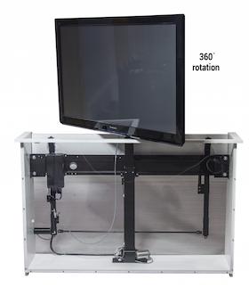 Sabaj Tv - Lyft / Hiss 95cm med rotation och lucköppnare inkluderat!