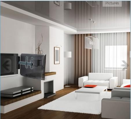 Helt nya Motorstyrt väggfäste svängbart 180° Magna - TV-hiss.se TI-55