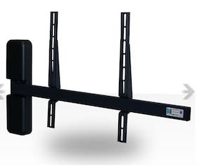 Motorstyrt väggfäste svängbart 180° Magna