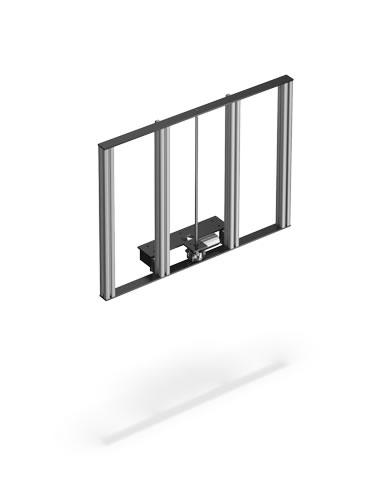 """Tavel-lift / hiss för 42"""" platta tv"""