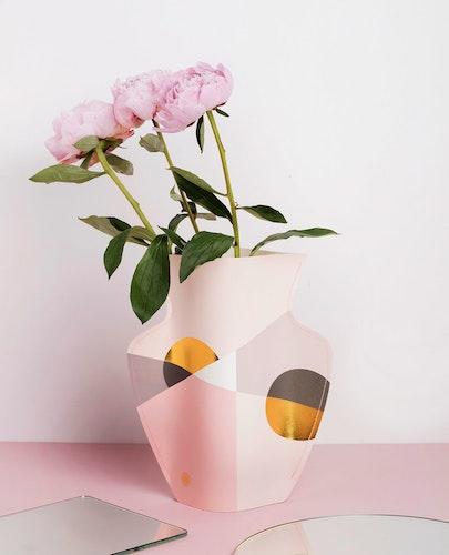 Pappersvas SIENA, pink
