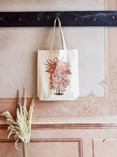 Tygkasse - Persikoträd
