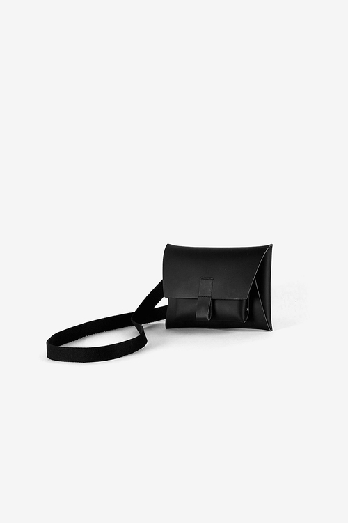 Kangaroo Belt Bag - Black