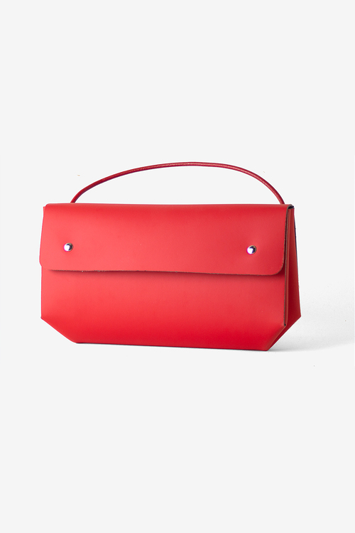 Triangle Case - Red
