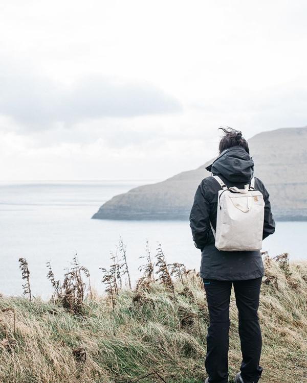 RUBY Backpack, light grey