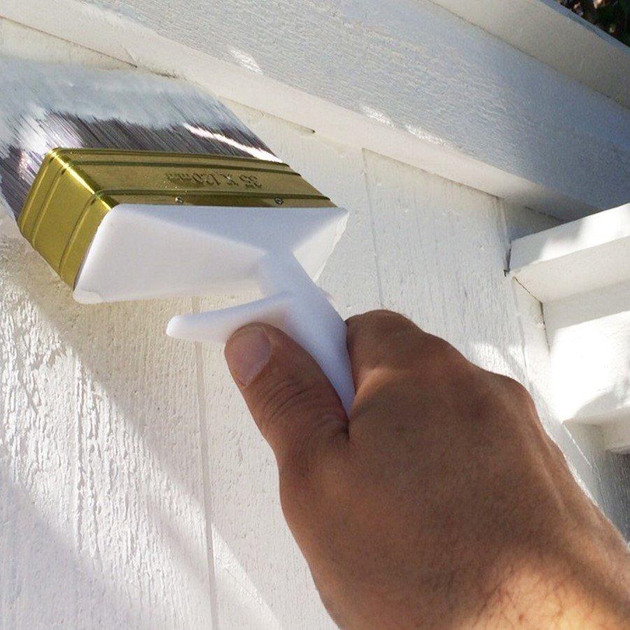 Måla fasad utomhus - allatidersskebo