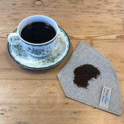 Kaffefilter i 100% lin