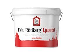 Falu Rödfärg Ljusröd 10 liter UTAN LINOLJA