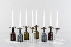 Kronljushållare till flaska