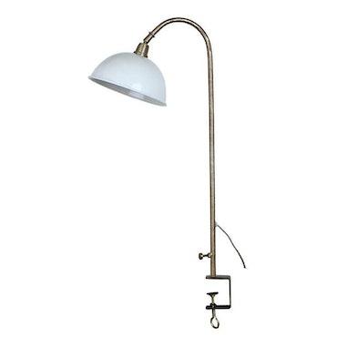 Bordslampa Vit Antik
