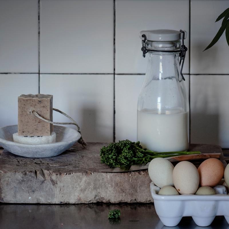 Kök & Trädgård, tvålen som skrubbar och vårdar