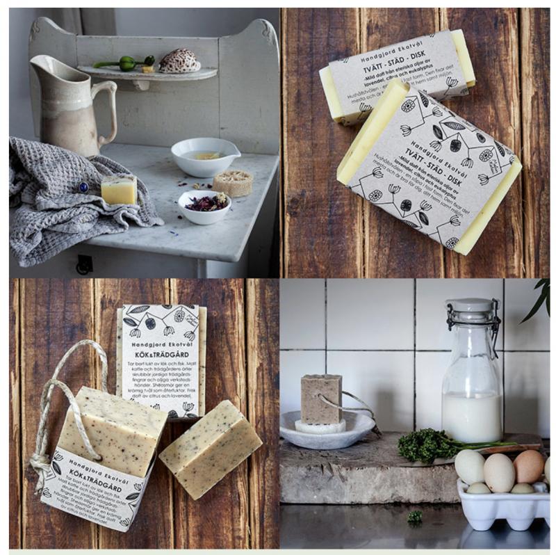 Tvål för tvätt städ och disk - minska på kemikalierna i din vardag