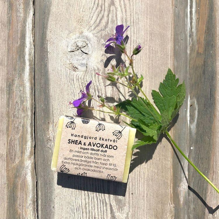 Handmade Eco Soap Shea & Avocado - unscented
