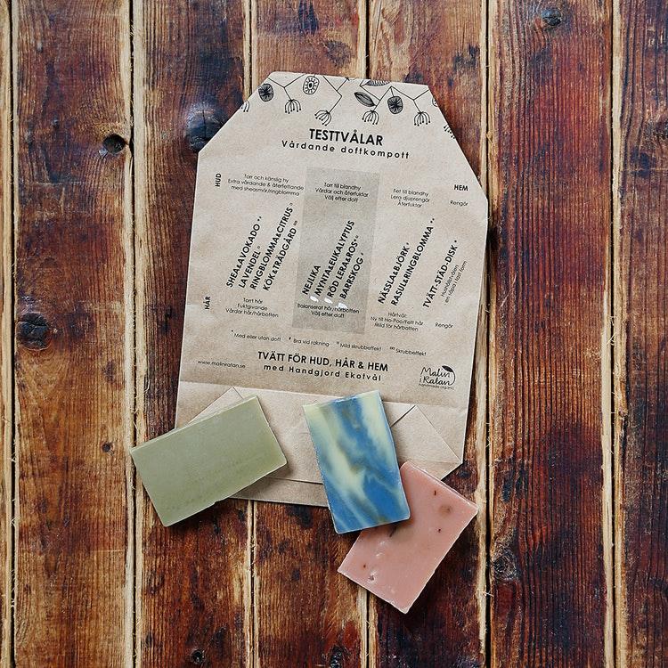 Ekotvål Test-tvålar
