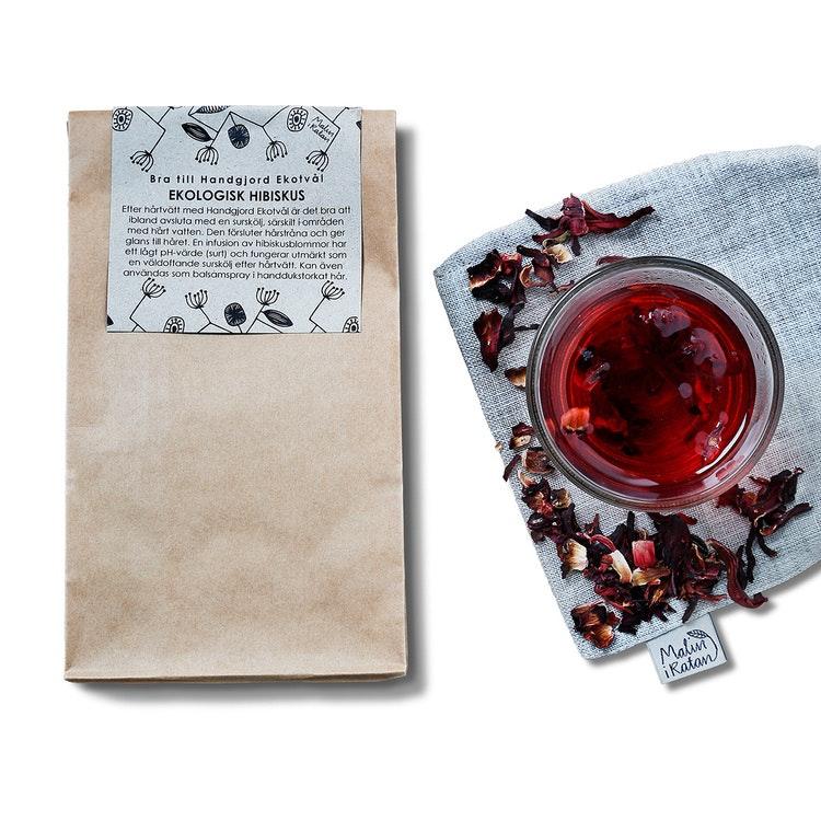 Acid rinse: Organic hibiscus