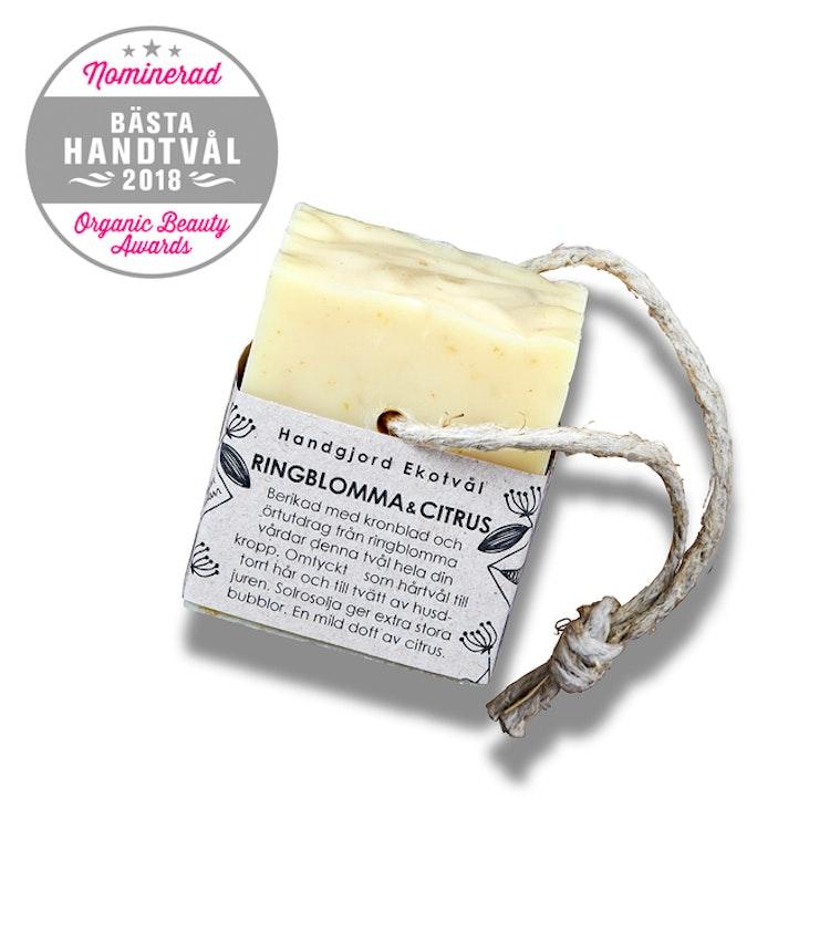 Handmade Eco Soap Calendula & Citrus