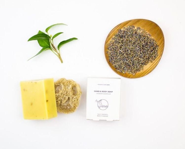 By Sara – Soap Hand Hair Body – Lavender & Geranium