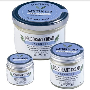 NaturligDeo Cream Lavendel - ekologisk deodorant