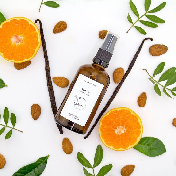 By Sara - Body Oil Fresh Vanilla