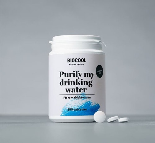 Biocool - Purify my drinking water