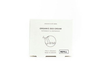 By Sara - Deo Cream Peppermint Lemongrass refill