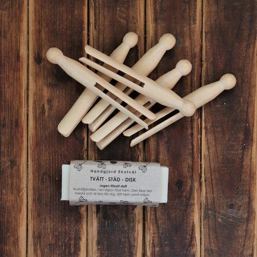Gift Set Clothespins & Household Soap