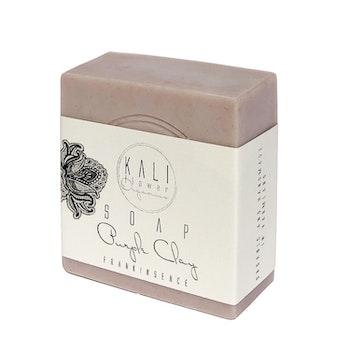 KaliFlower: Ekologisk tvål, Lila lera - Frankincense