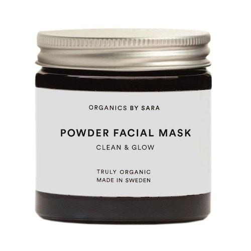 By Sara - Powder Facial Mask, Clean & Glow