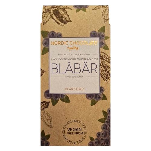 Choklad 65% med Blåbär