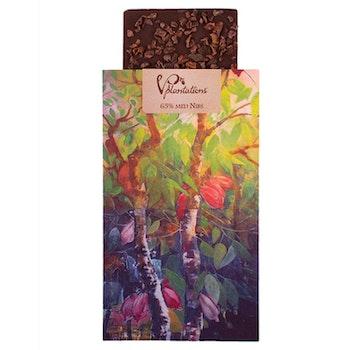 Choklad 65% med Nibs