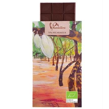 Choklad 75% Nicaragua