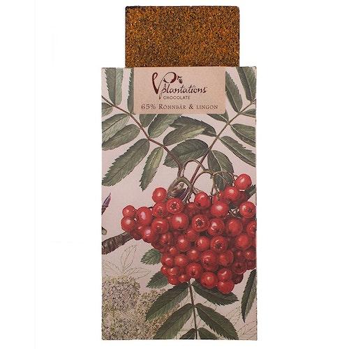 Choklad 65% med Rönnbär & Lingon