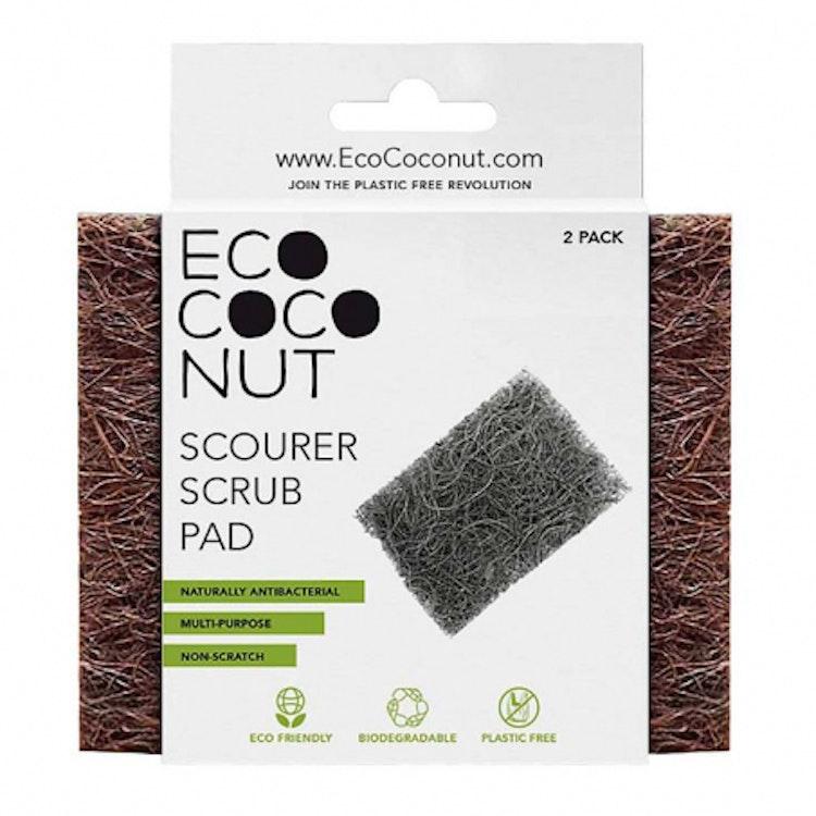 Skrubbdyna av Kokosnötsfiber 2-pack