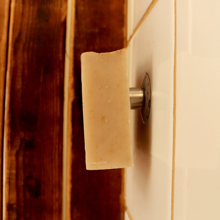Magnetisk tvålhållare