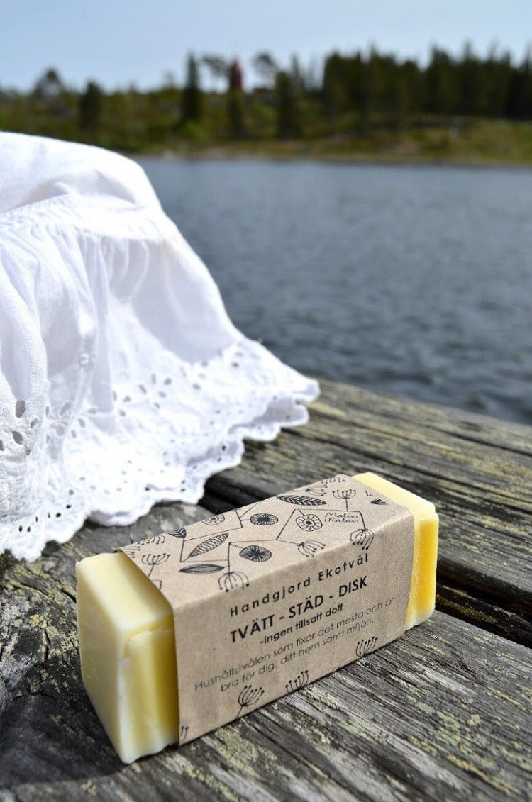 Handmade Eco Soap Laundry-Cleaning-Dishwashing - mild scent Solid soap