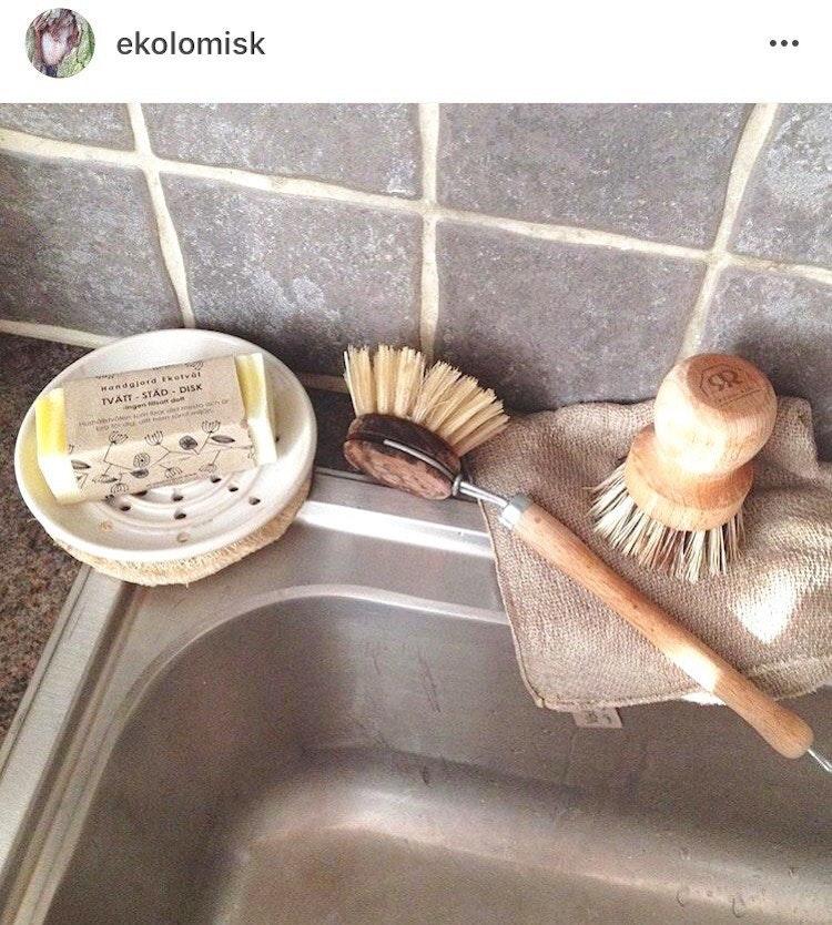 Ekotvål Tvätt-Städ-Disk - mild doft Fast tvål