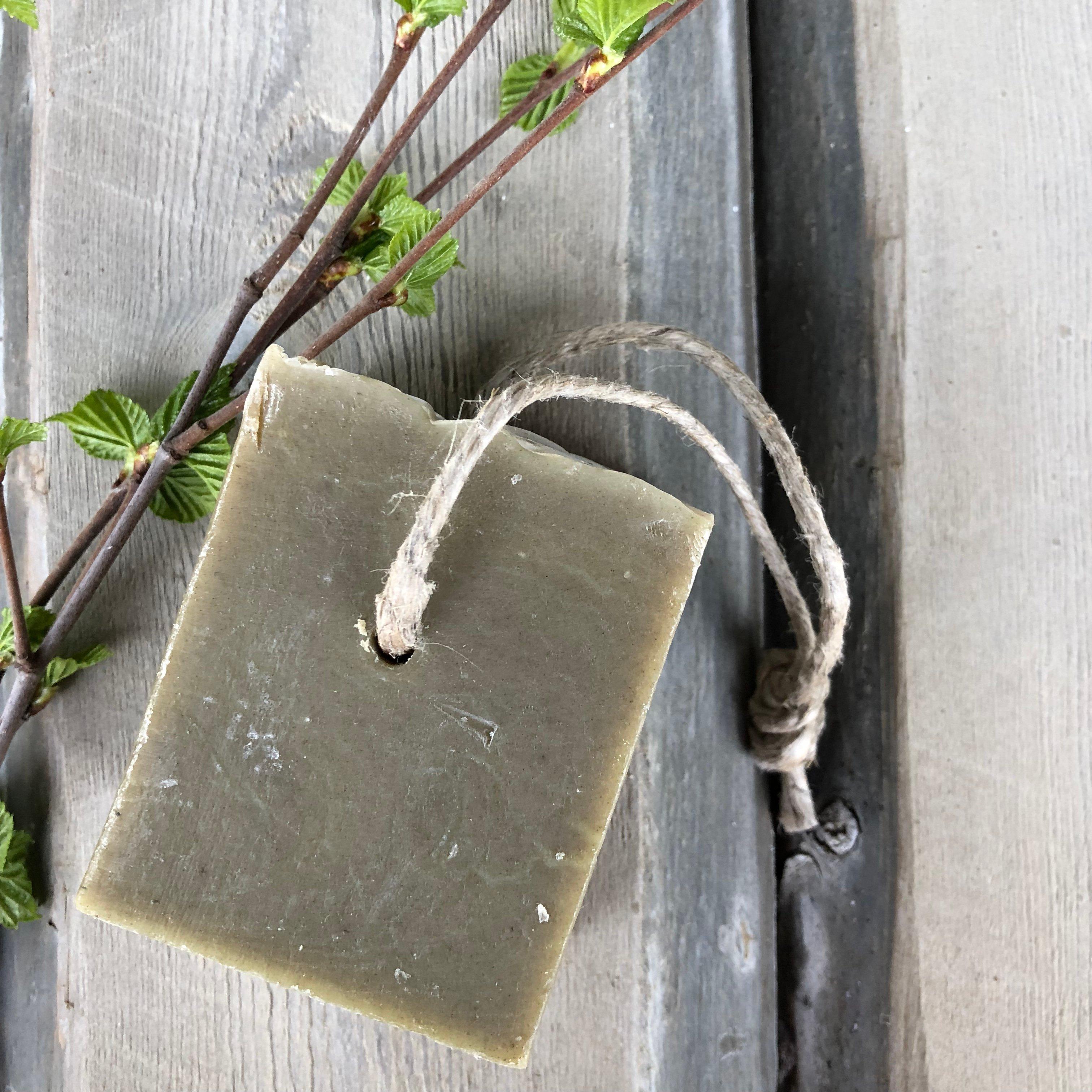 Handmade Eco Soap Nettle & Birch