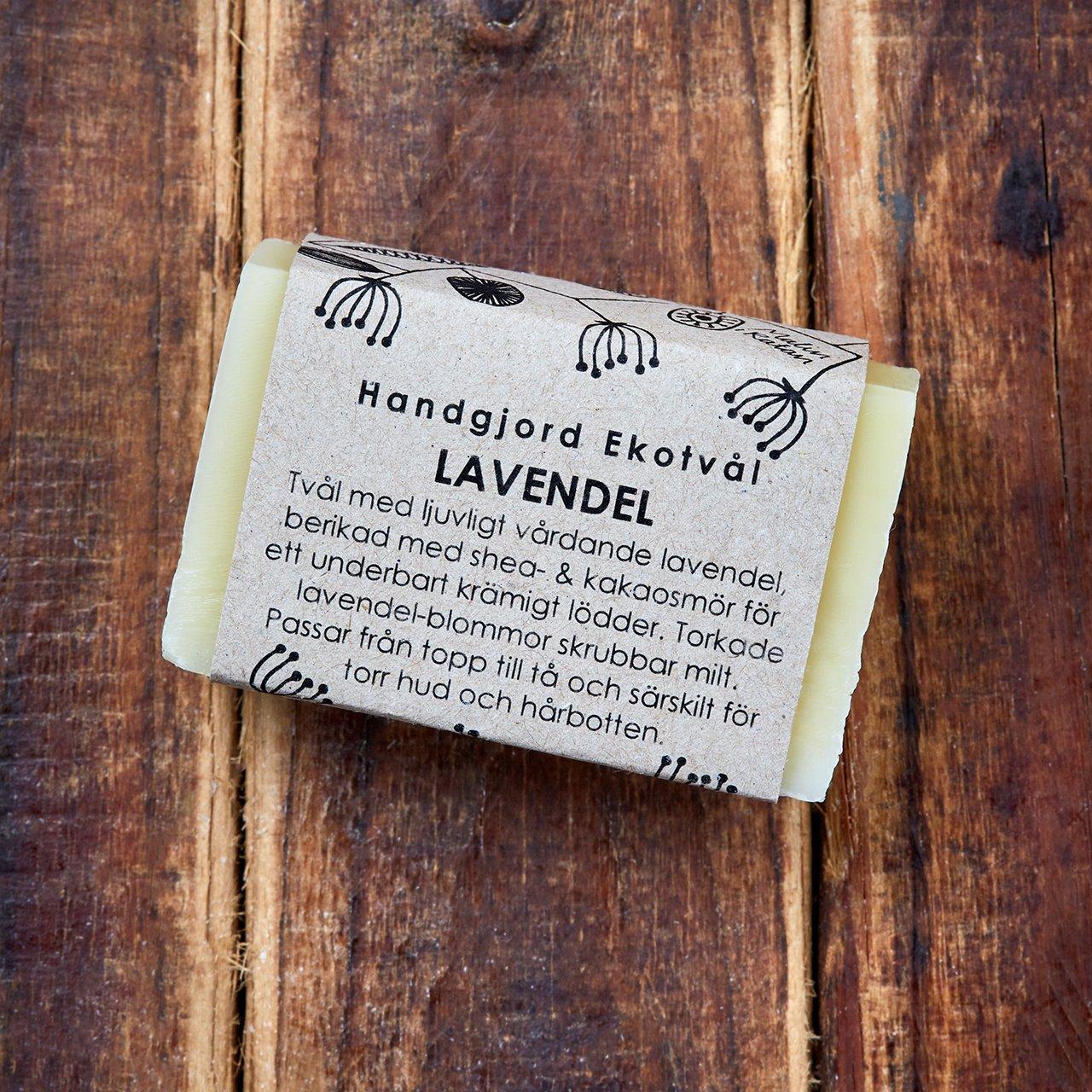 Handgjord Ekotvål Lavendel