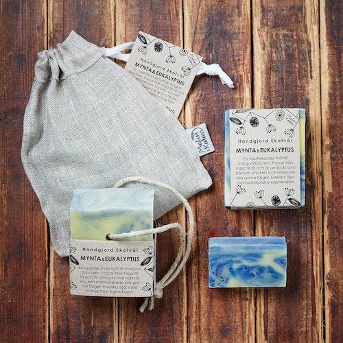 Handmade Eco Soap Mint & Eucalyptus