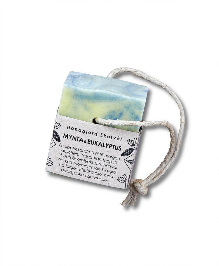 Handgjord Ekotvål Mynta & Eukalyptus