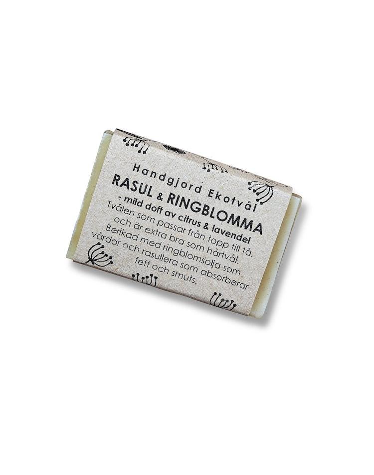 Ekotvål Rasul & Ringblomma - mild doft av citrus & lavendel