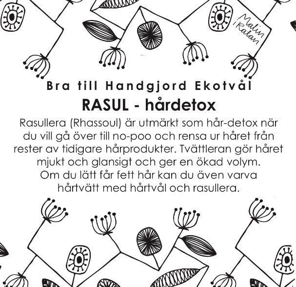 Rasul - hårdetox