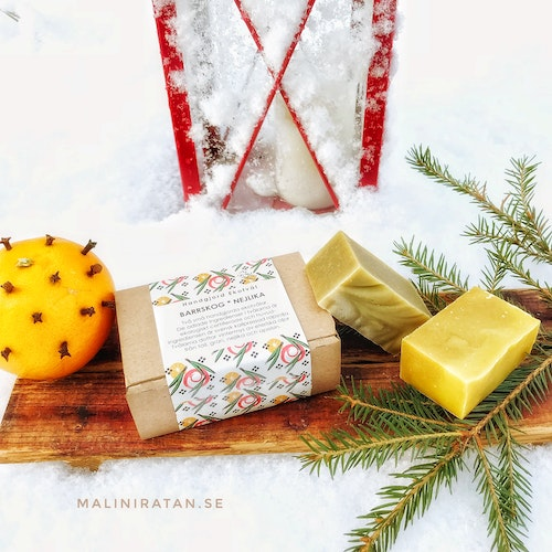 Handmade Eco Soap Gift Box two small soaps